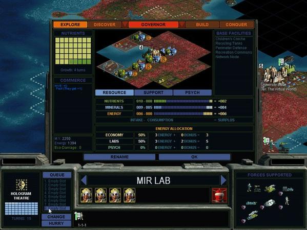 Sid Meier's Alpha Centauri Planetary Pack screenshot 1