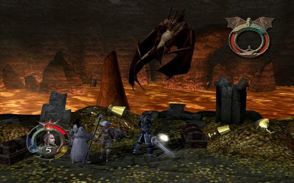 Forgotten Realms: Demon Stone screenshot 1