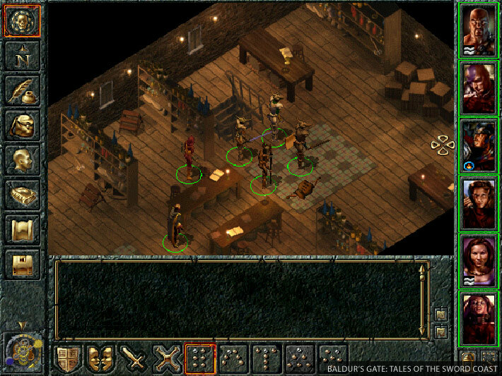 Baldur's Gate: The Original Saga screenshot 2