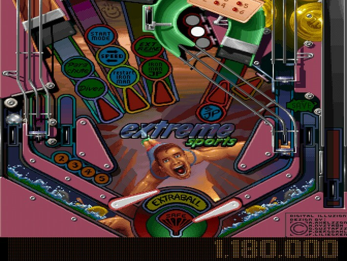 Pinball gold pack january 1 1996