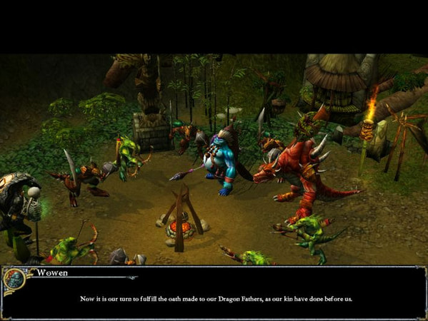Dungeons & Dragons: Dragonshard screenshot 1