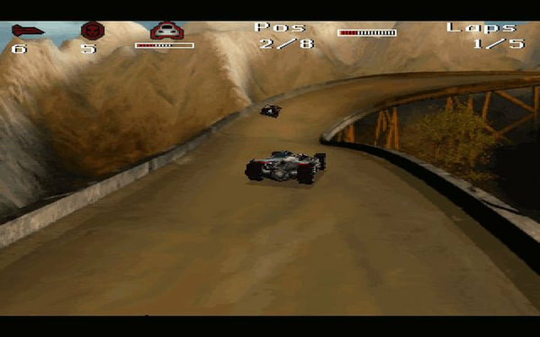 MegaRace 1+2 screenshot 2