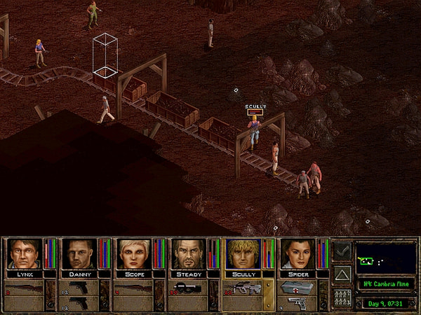 Jagged Alliance 2 screenshot 1
