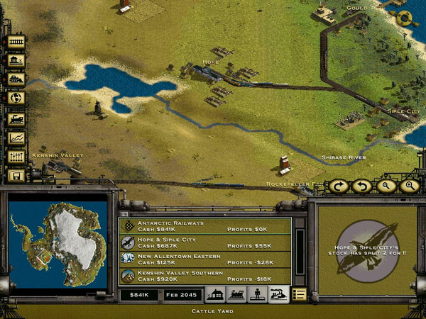 Railroad Tycoon 2 Platinum screenshot 2