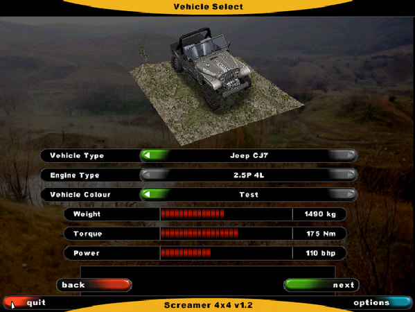 Screamer 4x4 screenshot 2