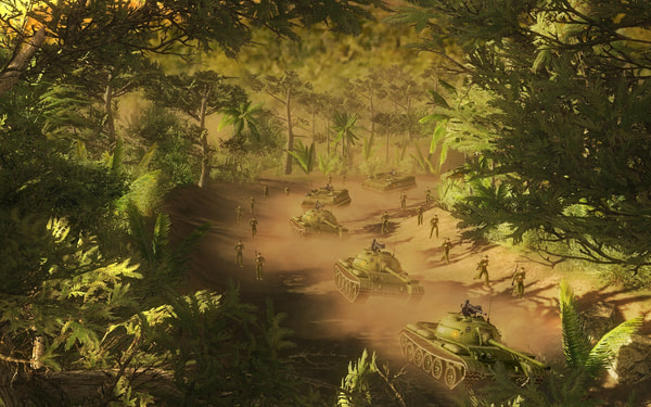 Men of War: Vietnam Special Edition screenshot 1