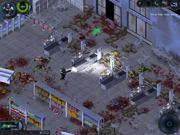 Alien Shooter 2: Reloaded screenshot 1