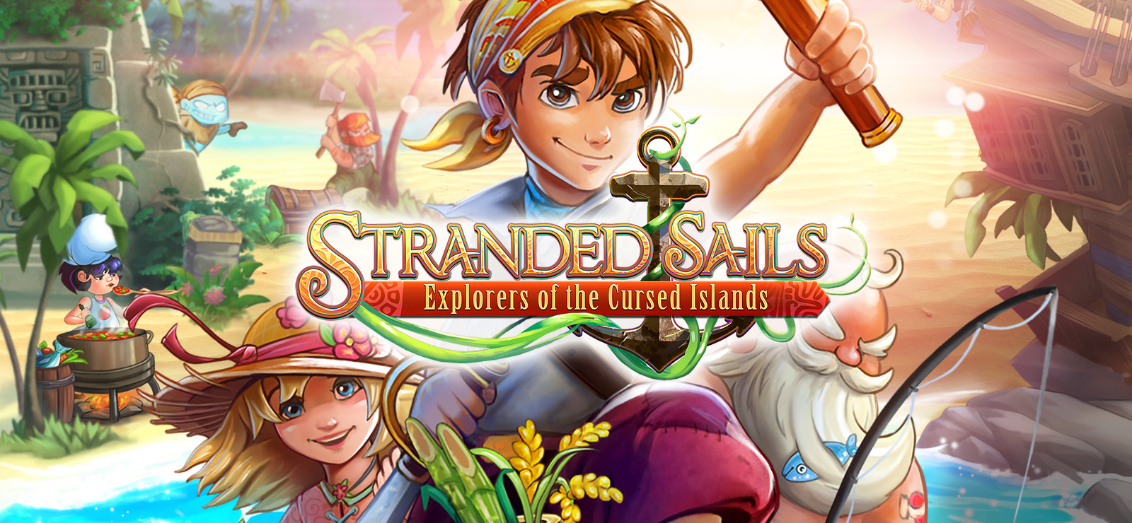 Stranded Sails Explorers of the Cursed Islands-GOG