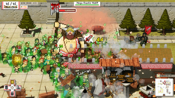 Okhlos: Olympus Edition screenshot 3
