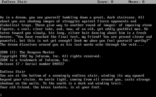 The Zork Anthology screenshot 3