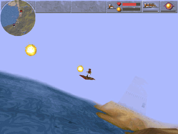 Magic Carpet screenshot 2
