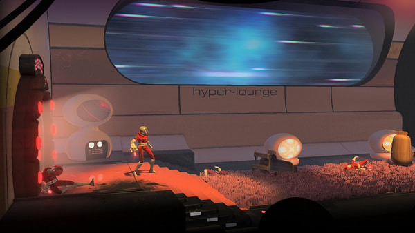 Headlander screenshot 1