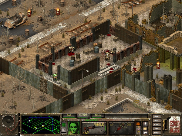 Fallout Tactics screenshot 1