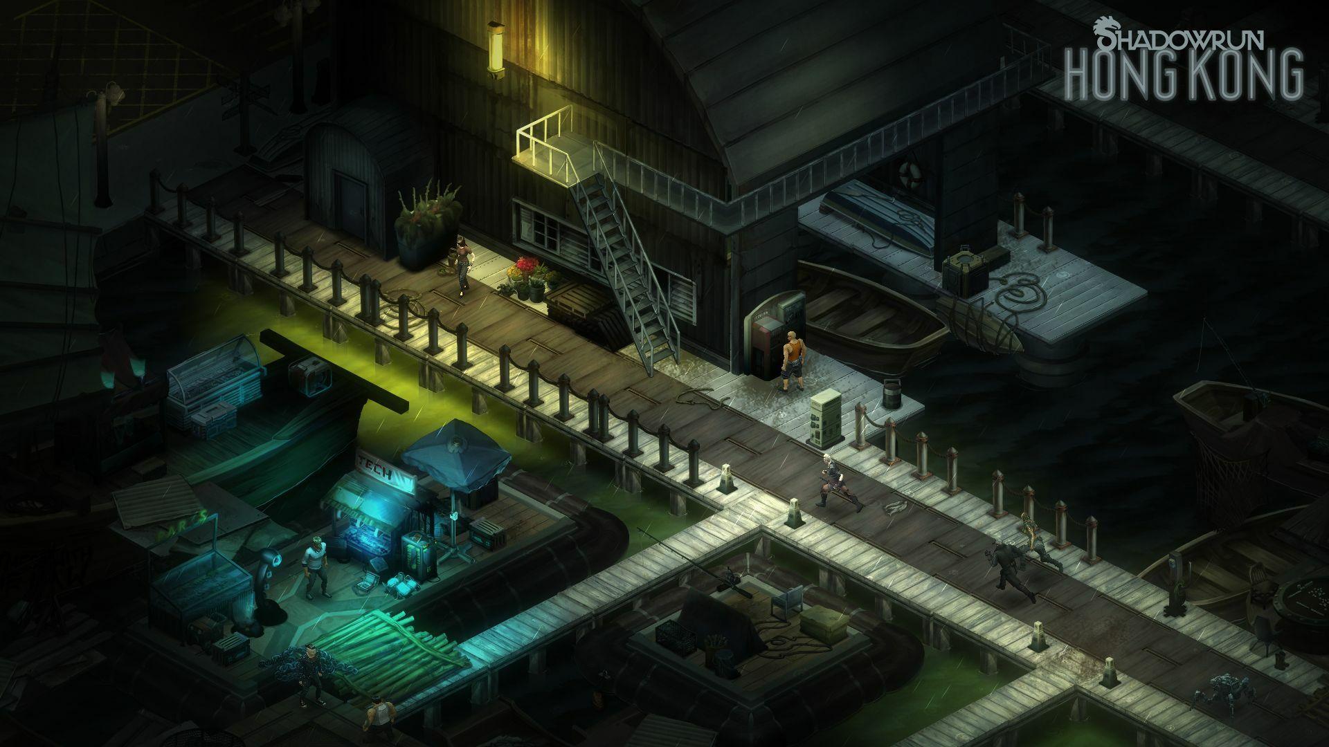 Shadowrun: Hong Kong - Extended Edition screenshot 1