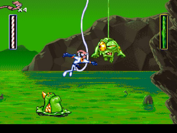 Earthworm Jim 1+2: The Whole Can 'O Worms screenshot 2