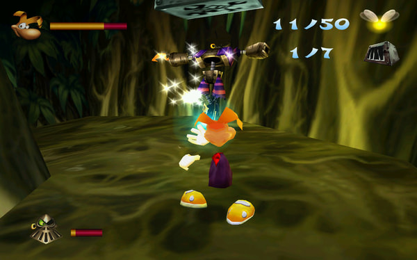 Rayman 2: The Great Escape screenshot 1
