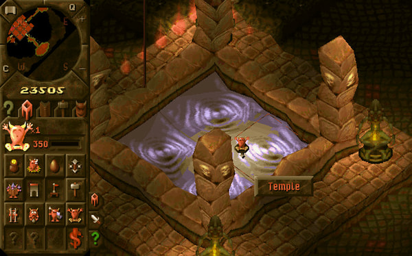 Dungeon Keeper Gold screenshot 3