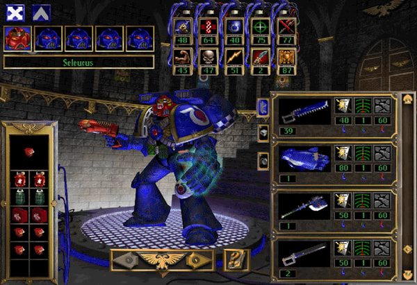 Warhammer 40,000: Chaos Gate Screenshot 2