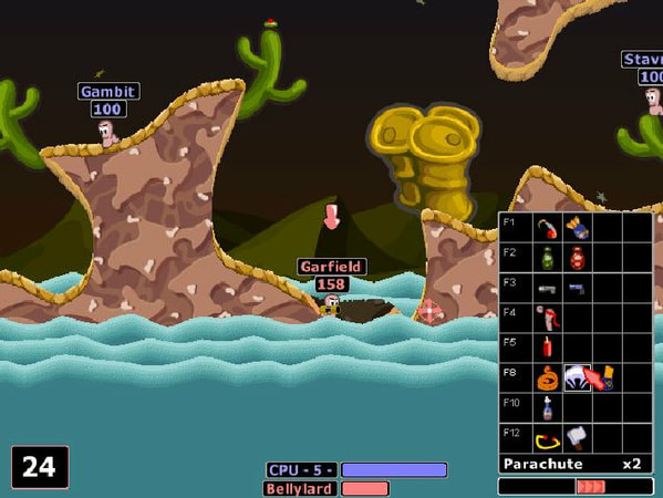 Worms 2 screenshot 1