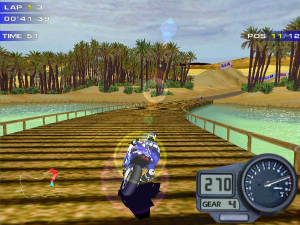 Moto Racer 2 screenshot 2