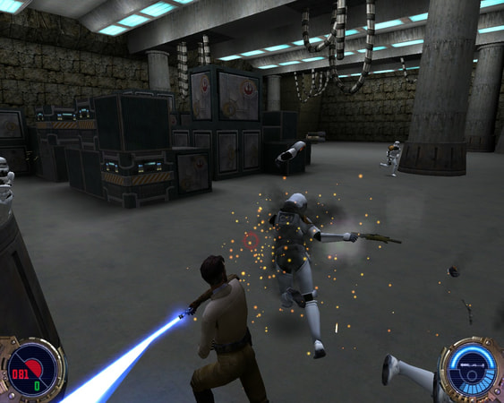 Star Wars: Jedi Knight II - Jedi Outcast screenshot 2