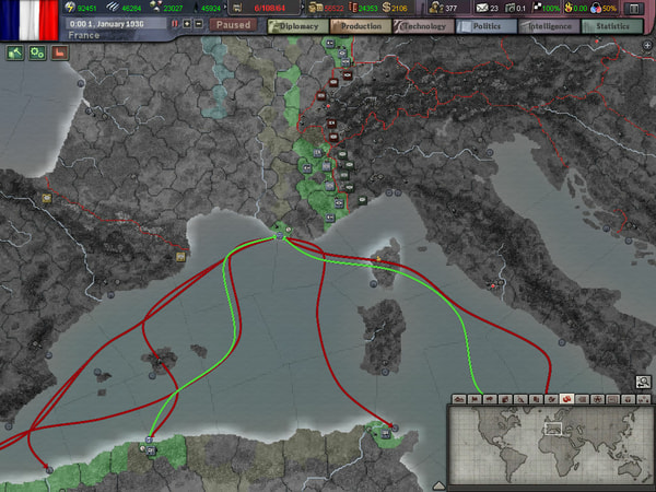 Hearts of Iron III + DLC Collection screenshot 3